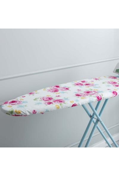 Favore Casa Ütü Masası Kılıfı Keçeli 60x140 Pembe