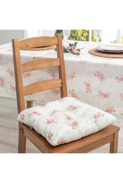 Favore Casa Sandalye Minderi 38X38 cm Yeşil