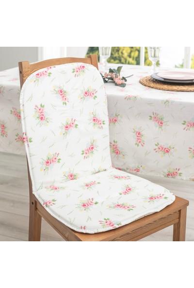 Favore Casa Sırtlıklı Sandalye Minderi 80X40 cm Yeşil