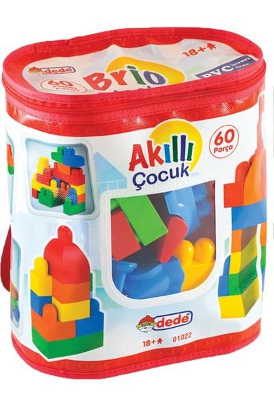 Fen Toys 01022 Akıllı Çocuk Blokları 60 Parça