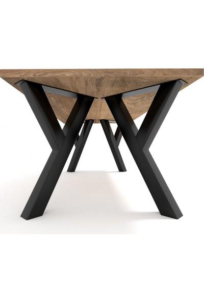 Abronya Masa Ayağı Modelleri Metal Masa Ayağı Y Şeklinde Masa Ayağı Yemek Masası Ayakları 60X73 cm
