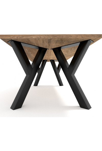Abronya Metal Masa Ayağı Yemek Masası Mutfak Masası Ayak Modelleri Y Şeklinde Masa Ayağı 50X75 cm