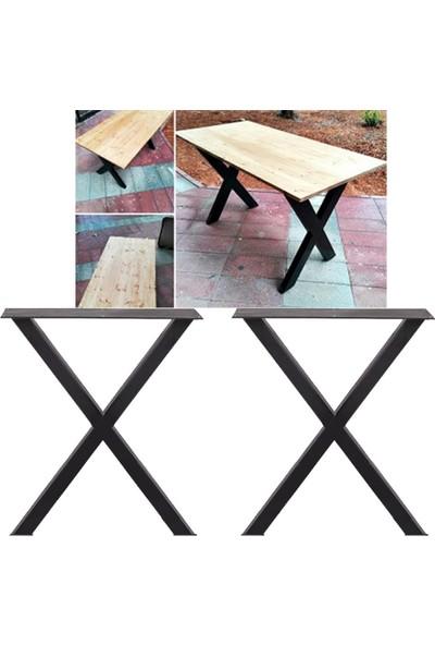 Abronya Metal Ayak Bahçe Mobilya Yemek Masası Ayak Modelleri Metal Masa Ayağı