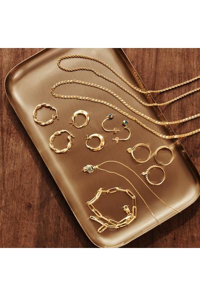 Gelin Pırlanta 14 Ayar Altın Zincir Model Bileklik