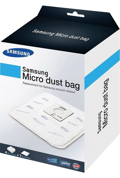 Samsung Micro Dust Bag VP-78M 4+1 Filter