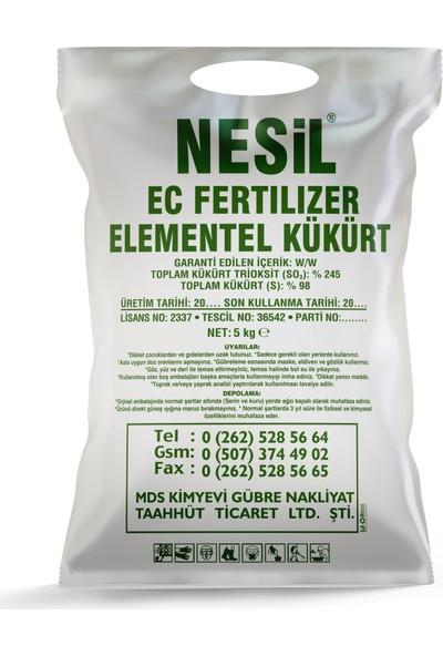 Nesil Elementel Toz Kükürt 5 kg (Haşere Kovucu, Ph Dengeleyici)