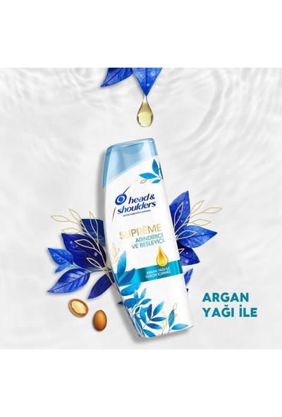 Head & Shoulderssupremearındırıcı Besleyici Argan Yağı Şampuan 360 Mlx2 ve Saç Kremi 220 ml