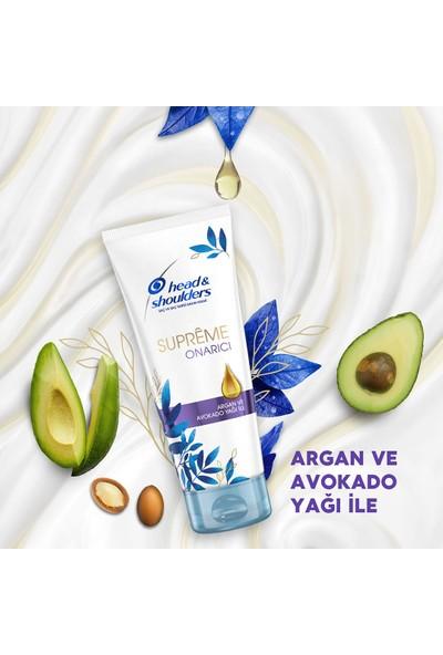 Head & Shoulderssupremeonarıcı Argan ve Avokado Yağı Şampuan 360 Mlx2 ve Saç Kremi 220 ml