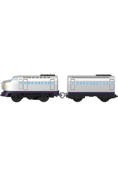 Thomas & Friends Thomas ve Arkadaşları Motorlu Büyük Tekli Oyuncak Trenler Kenji BMK88-GYW10