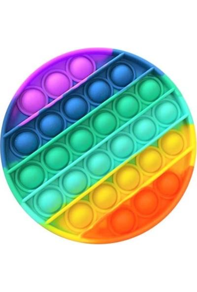 Pop It Push Bubble Fidget Özel Pop Duyusal Oyuncak Zihinsel Stres Oyuncağı