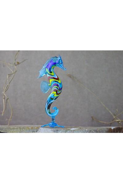 Adamodart Renkli Denizatı Cam Biblo