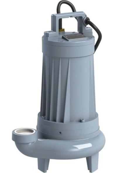 Sumak SBRT75/3-P 7.5hp Trifaze Parçalayıcı Bıçaklı Foseptik Dalgıç Pompa