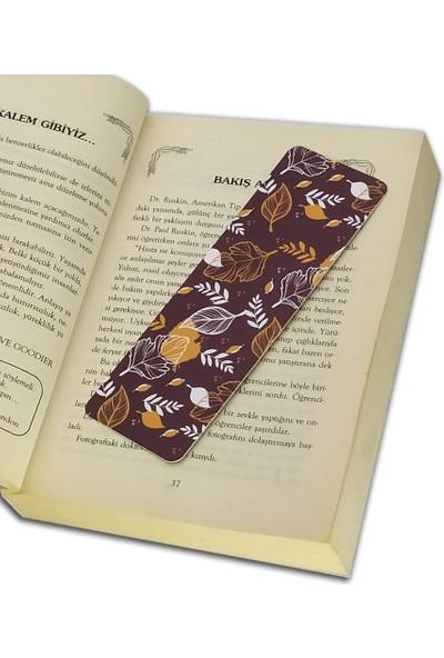İstisna Karışık Desenli Kitap Ayracı Model 3