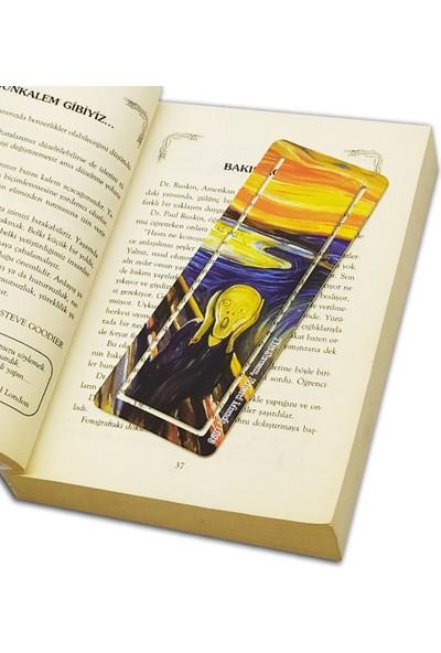 Istisna Ünlü Tablolar Kitap Ayracı- Çığlık