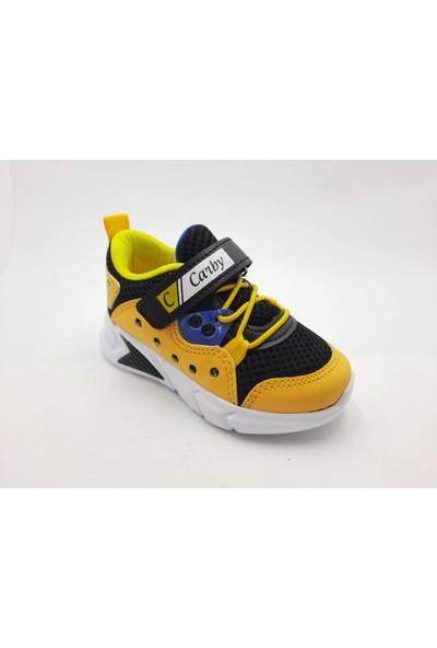 Carby Cırtlı Hafif Erkek Çocuk Spor Ayakkabı
