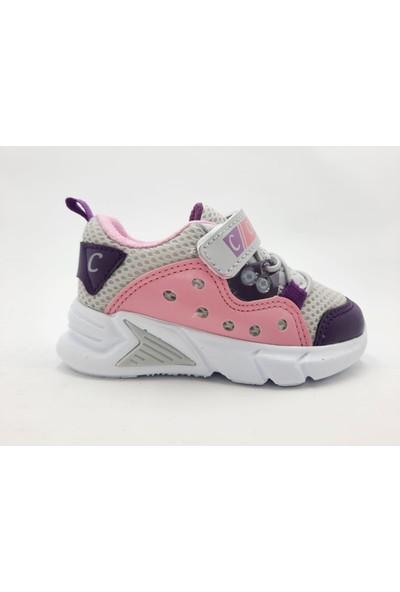 Carby Cırtlı Hafif Kız Çocuk Spor Ayakkabı