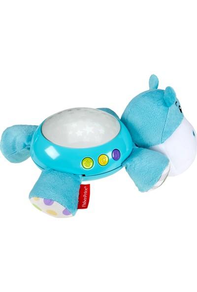 Fisher-Price Hipopotam Projektör, Yıldızlı Işık Gösterisi, Uykuya Yardımcı 30dk'lık Sakinleştirici Müzikler CGN86