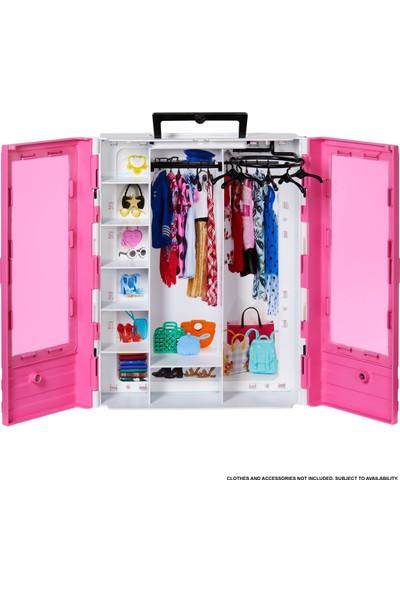 Barbie'nin Pembe Gardırobu, Taşınabilir Moda Oyuncağı 3-8 Yaş Arası İçin GBK11
