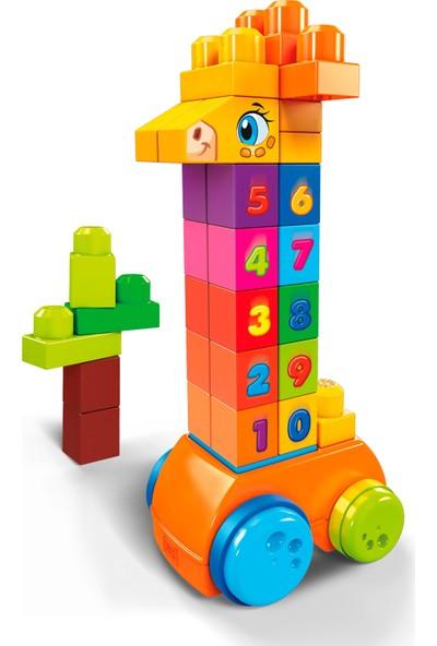 Fisher-Price Mega Bloks Matematik Arkadaşı Zürafa, 30 Parçalı GFG19
