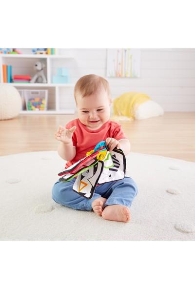 Fisher-Price Mini Yumuşak Kitap, Bebeğiniz İçin Hareketli Yumuşak Kitap GFX90