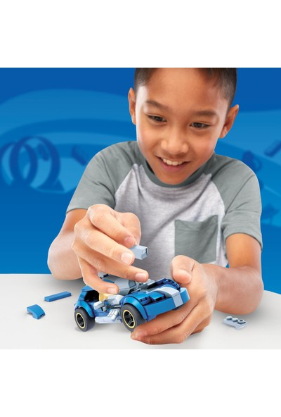Mega Construx Hot Wheels Blok Araçlar Serisi, Twin Mill, 5 Yaş Ve Üzeri İçin İdeal Yapı Oyuncakları GVM31