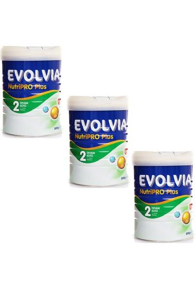 Evolvia Nutripro Plus 2 Devam Sütü 800 gr 3 Adet