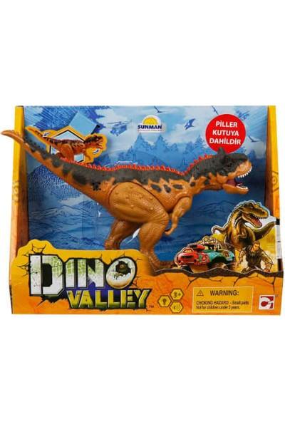 Sesli ve Işıklı Dino Valley Dinozor Kahverengi