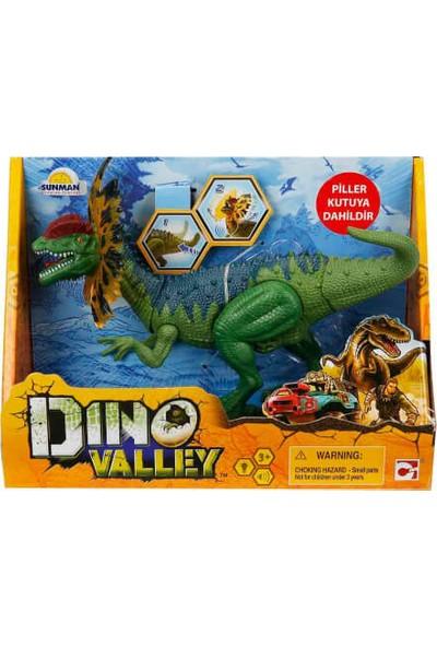 Sesli ve Işıklı Dino Valley Dinozor Yeşil