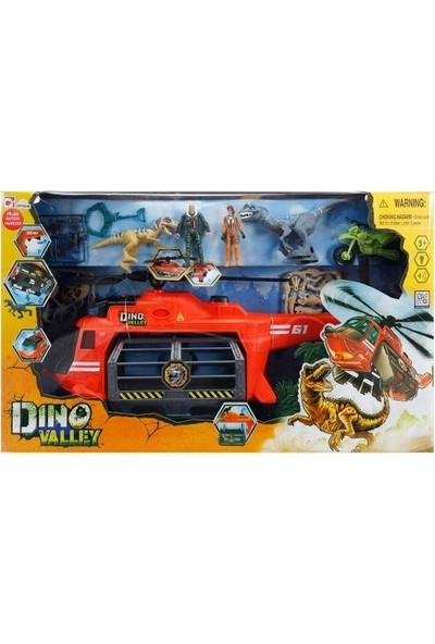 Dino Valley Jaw Copter Oyun Seti