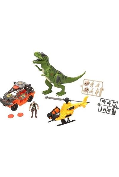 Dino Valley T-Rex Attack Oyun Seti