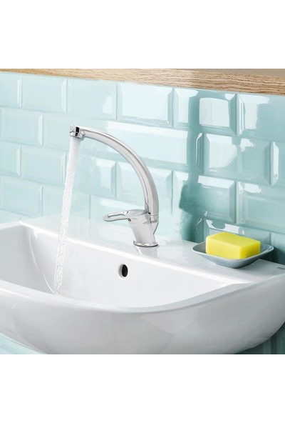 Kupp Lavabo Bataryası 2 Adet Filtreli Ara Musluk Garantili Lavabo Musluğu Mix Banyo Lavabo Bataryası