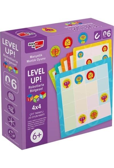Levelup! Robotlarla Bölgesel Sudoku