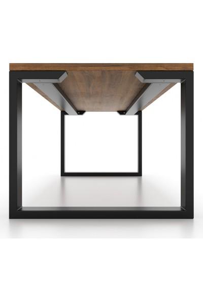 Abronya Metal Masa Ayağı Destekli Masa Ayağı Modelleri Yemek Masası Mutfak Masası Ayakları 73X90X130 cm