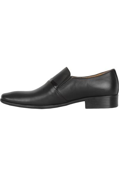 Balayk 1902 Siyah Neolit Deri Erkek Klasik Ayakkabı