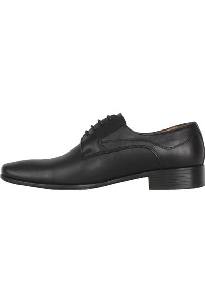 Balayk 1905 Siyah Neolit Deri Erkek Klasik Ayakkabı