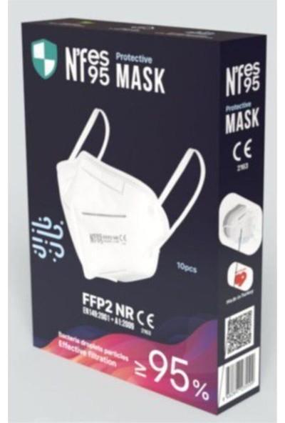 5 Katlı Medikal Premiun F95 Maske 5 Paket 50 Adet