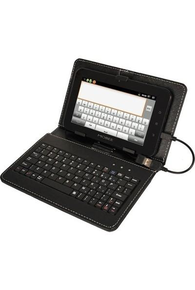 """Evdeka Alcatel 1t 7"""" Klavyeli Tablet Kılıfı"""