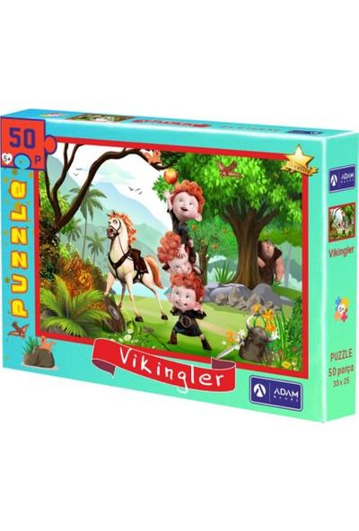 Adam Games Vikingler 50 Parça Puzzle