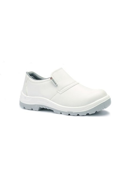 Yılmaz 902 Çelik Burunlu Beyaz Iş Ayakkabısı