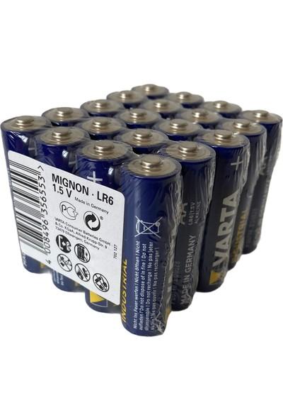 Varta Endüstriyel Aa Ince Kalem Pil 1.5V Alkalin Özel Pil Paketi 20'li