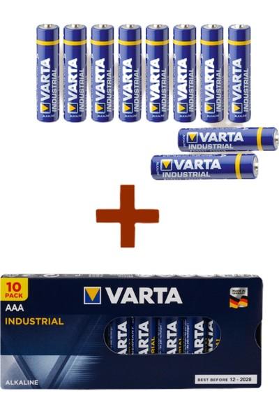 Varta Endüstriyel 10AA + 10 Aaa Özel Pil Paketi 20'li