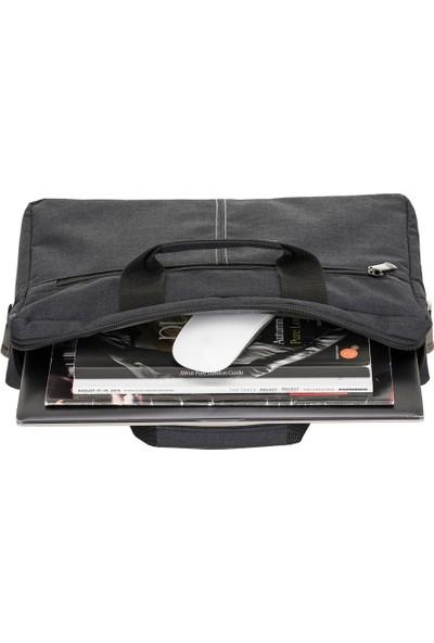 """Limon Aksesuar 15"""" Siyah Laptop Çantası / 15"""" Bilgisayar Evrak Notebook Çantası"""