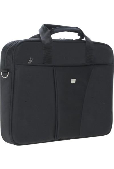 """Limon Aksesuar 17"""" Siyah Laptop Çantası / 17"""" Bilgisayar Evrak Notebook Çantası"""
