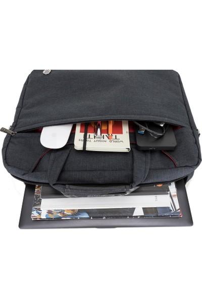 """Limon Aksesuar 15"""" Siyah Laptop Çantası / Chelsa 15.6"""" Bilgisayar Evrak Notebook Çantası"""