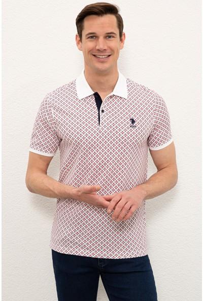 U.S. Polo Assn. Beyaz T-Shirt 50238019-VR013