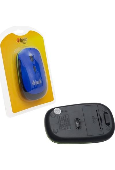 Hello Hl-40 1200 Dpı 2.4 Ghz Kablosuz Mouse