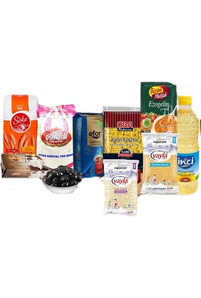 Oba Mini Gıda Paketi 18 Parça - Tbyg-Erzak-19