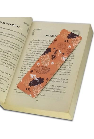 İstisna Karışık Desenli Kitap Ayracı Model 4