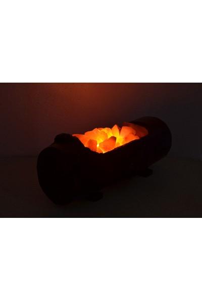Kuzeyyıldızı Tuz Lamba Tuz Lambası Kütük Tuz Lambası Kasa Modeli Gece Lambası Abajur