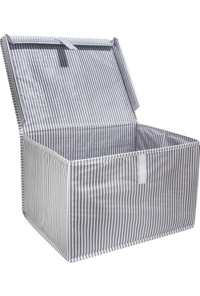 Alas Çok Amaçlı Kapaklı Kutu Hurç Mini 40*30*26 cm